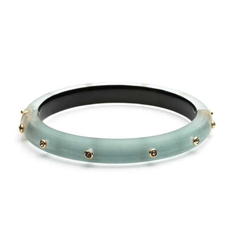 Crystal Rivet Bangle