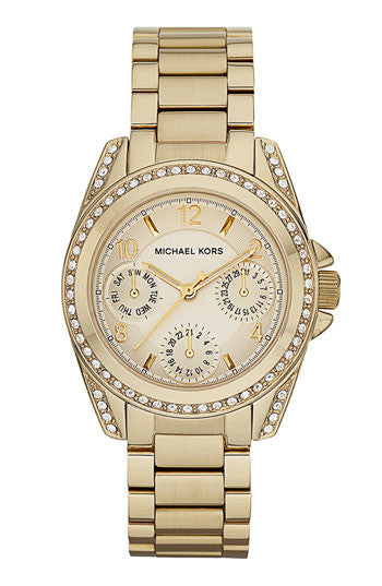 Michael Kors Blair Mini Gold-Tone Stainless Steel Bracelet - michael kors -  Watches - Ora by D'Amore Jewelers