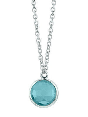 KAHILI NECKLACE IN BLUE TOPAZ