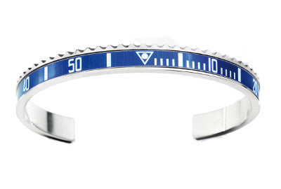 Classic Blue Bangle, Bracelet, Speedometer Official - Ora by D'Amore Jewelers