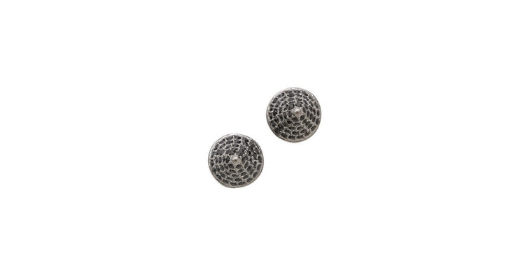 PAVÉ SMALL CONE STUD EARRING