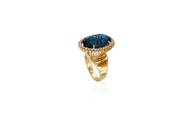 Corona Ring - Vianna -  Ring - Ora by D'Amore Jewelers - 1