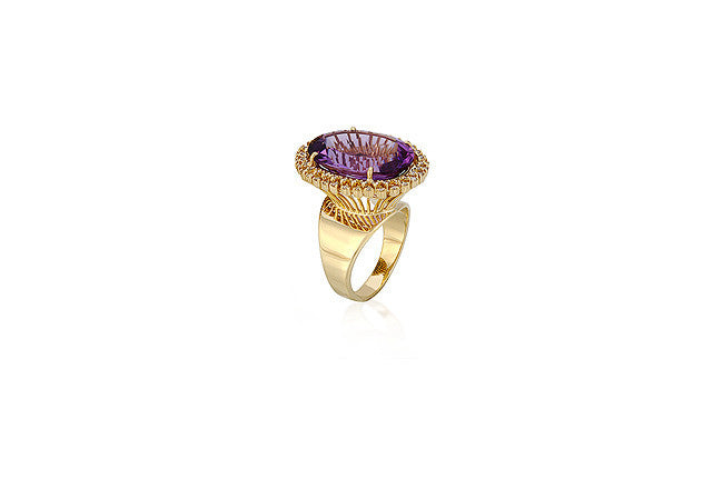 Corona Ring - Vianna -  Ring - Ora by D'Amore Jewelers - 2