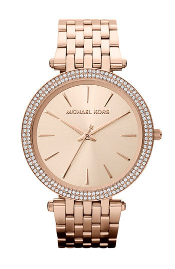 Michael Kors Darci Rose Gold-Tone Stainless Steel Bracelet - michael kors -  Watches - Ora by D'Amore Jewelers