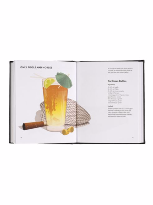The Gentleman's Guide to Cocktails Book - Graphic Image -  Home - Ora by D'Amore Jewelers - 4