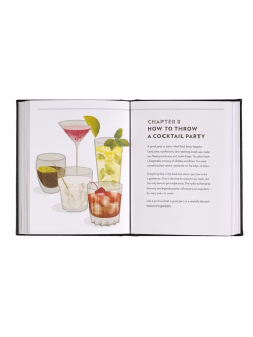 The Gentleman's Guide to Cocktails Book - Graphic Image -  Home - Ora by D'Amore Jewelers - 5