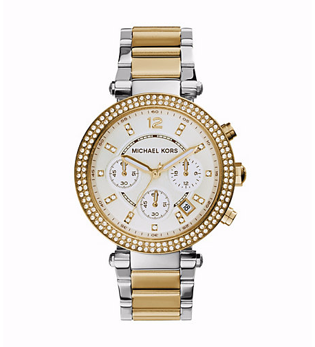 Michael Kors Parker Two-tone Watch - michael kors -  Watches - Ora by D'Amore Jewelers