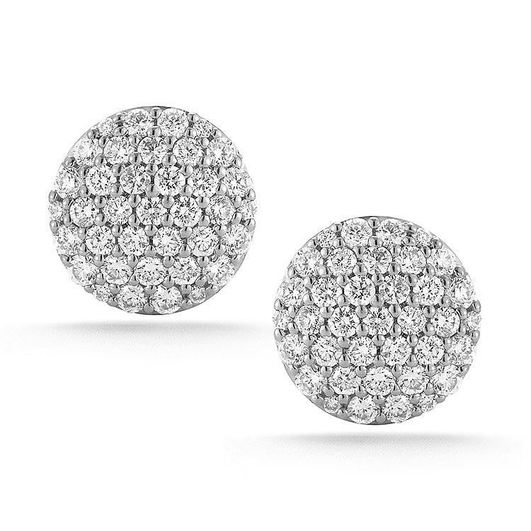 Lauren Joy Large Stud Earrings, , Earring, Dana Rebecca Designs, D'Amore Jewelers  - 1