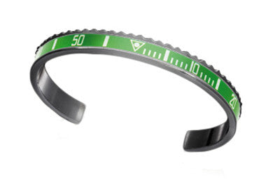Black and Green Bangle