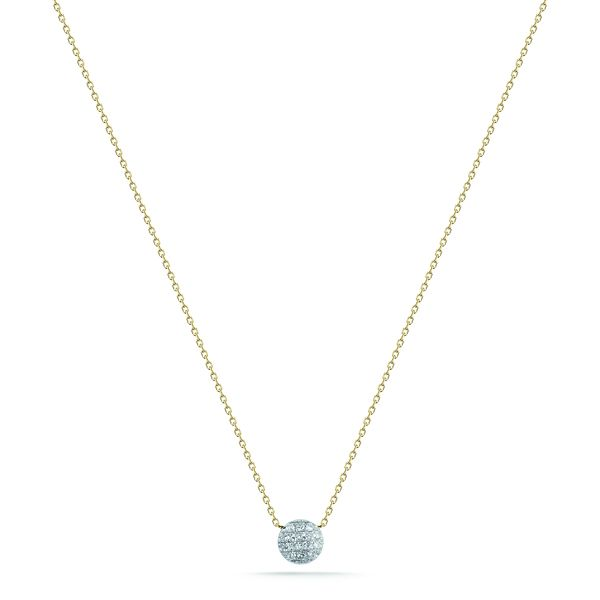 LAUREN JOY MINI NECKLACE - YELLOW GOLD