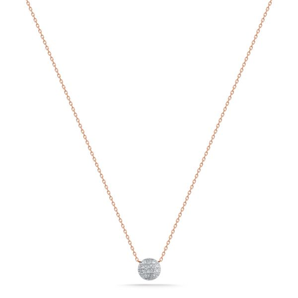 LAUREN JOY MINI NECKLACE - ROSE GOLD