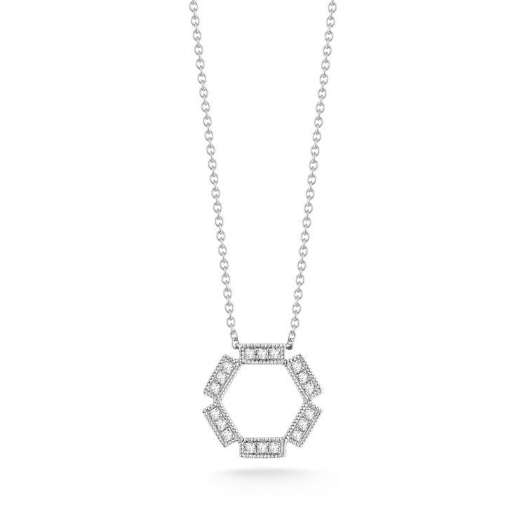 BRIELLE ROSE DIAMOND NECKLACE, , Necklace, Dana Rebecca Designs, D'Amore Jewelers