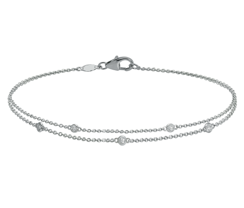 Scatered Diamond Bracelet - Ora by D'Amore Jewelers -  Bracelet - Ora by D'Amore Jewelers