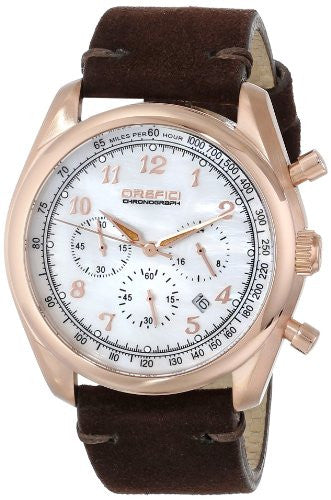Women's Vintage White and Brown - Orefici -  Watches - Ora by D'Amore Jewelers