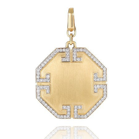 Metropolis Octagonal Pendant - Ivanka Trump -  Necklace - Ora by D'Amore Jewelers