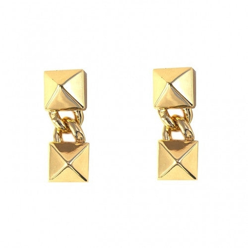 SIGNATURE PYRAMID EARRINGS - Fallon -  Earring  - Ora by D'Amore Jewelers