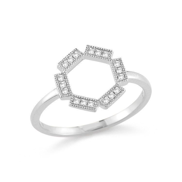 BRIELLE ROSE DIAMOND RING, Ring, Dana Rebecca Designs - Ora by D'Amore Jewelers