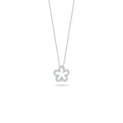 TINY TREASURES FLOWER PENDANT - Tiny Treasures -  Necklace - Ora by D'Amore Jewelers