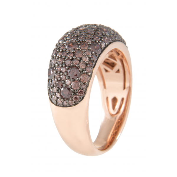 SOPHISTICATED BAND RING - Bronzallure -  Ring - Ora by D'Amore Jewelers - 1