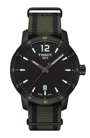 TISSOT QUICKSTER MEN & WOMEN'S QUARTZ BLACK AND WHITE DIAL WITH SYNTHETIC STRAPS - Tissot -  Watches - Ora by D'Amore Jewelers