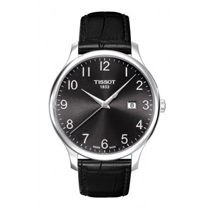 Tradition Men's Black Quartz Classic watch - Tissot -  Watches - Ora by D'Amore Jewelers