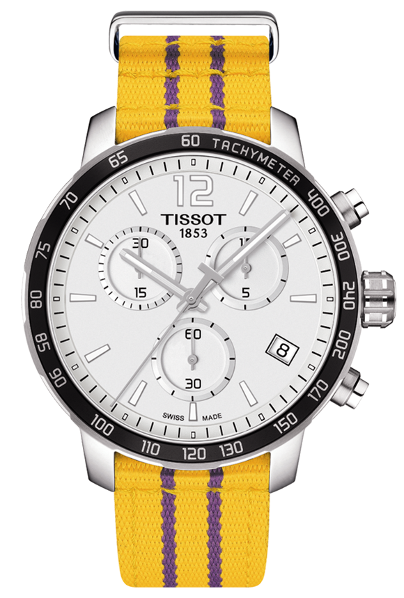 Tissot Los Angeles Lakers Quickster Quartz - Tissot -  Watches - Ora by D'Amore Jewelers