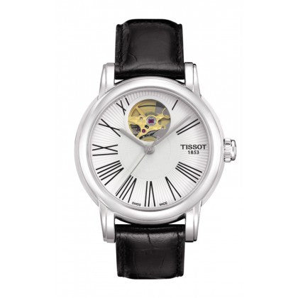 Lady Heart Ladies Silver Automatic Classic Watch, Watches, Tissot - Ora by D'Amore Jewelers