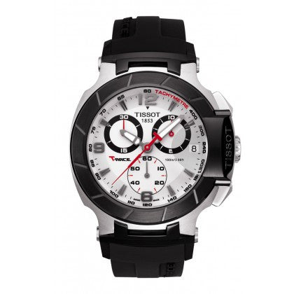 T-Race Men's Silver Quartz Chronograph Sport Watch - Tissot -  Watches - Ora by D'Amore Jewelers