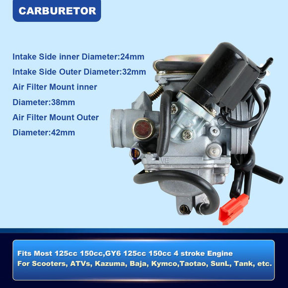 Carburetor Carb For GY6 125 150cc Scooter