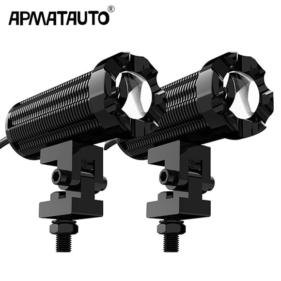 2pcs 10000lm LED Motorcycle Headlight