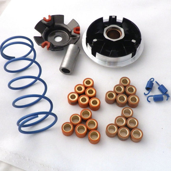 High Performance Racing Variator Kit 18x14mm Weight Rollers Clutch Springs For GY6 125cc 150cc 152QMI 157QMJ Scooter Moped Parts