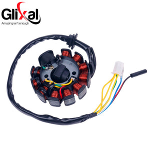Glixal GY6 125cc 150cc 11 coil Magneto Alternator Stator for Scooter