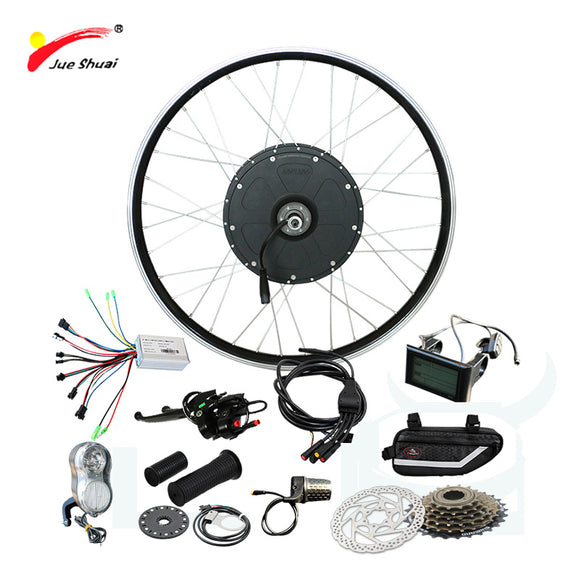 Powerful 48V 1000W Electric Bike Kit Brushless Hub motor