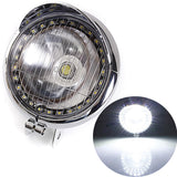 White 27 LED Motorcycle  Headlight
