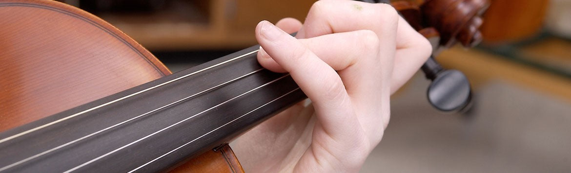 Violin Viola Cello and Double Bass Instrument Rental from Brittens Music