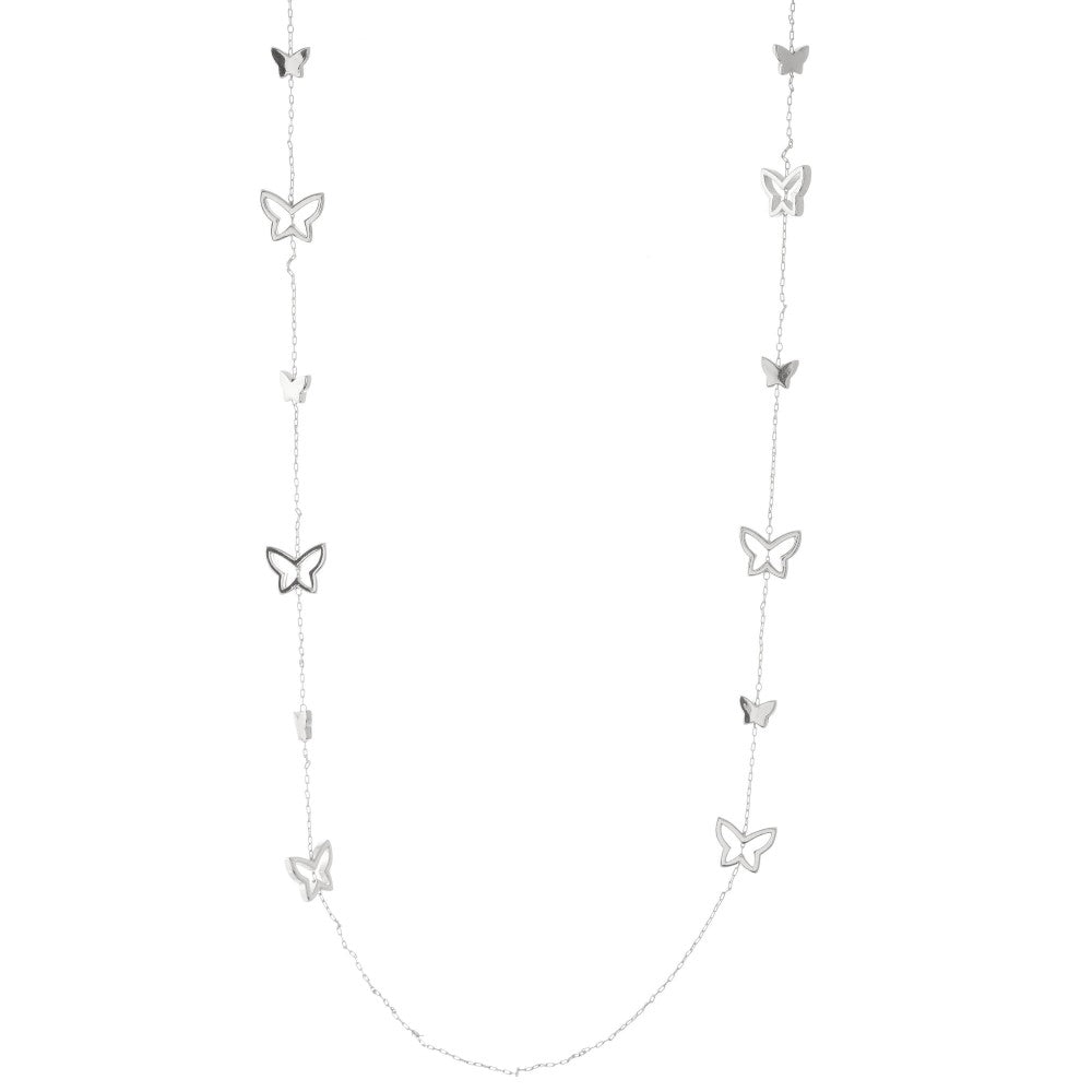 Butterfly Long Necklace