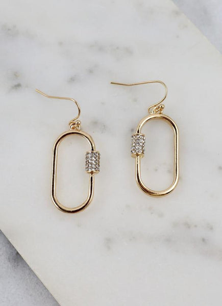 Diggs Oval Earring