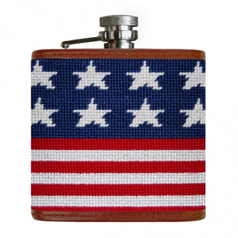 Smather's and Branson Old Glory Flask
