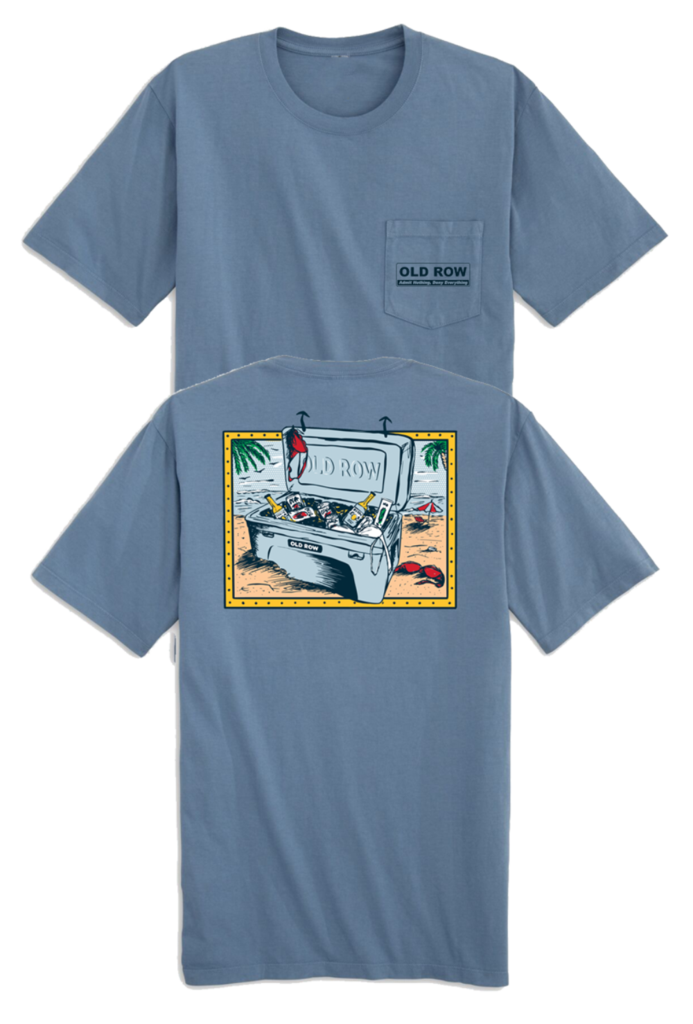 Old Row Beach Cooler Pocket Tee