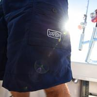 Navy M01L Original Fishing Shorts Long