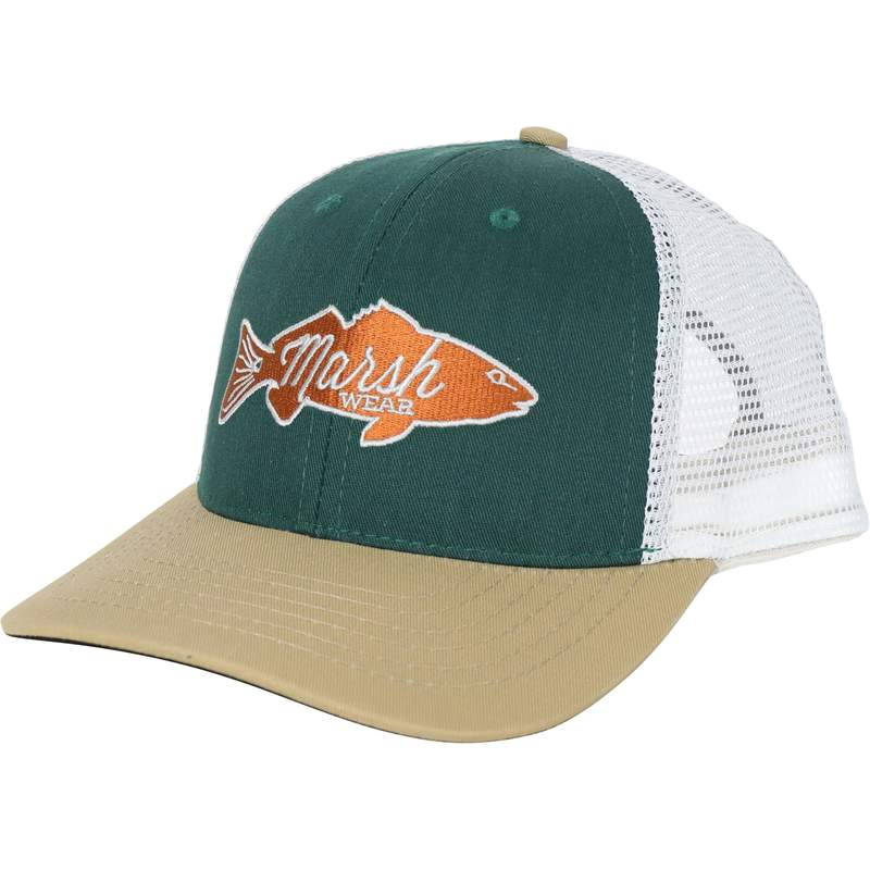Marsh Wear Retro Redfish Trucker