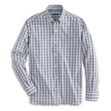 Blue Valley Plaid Button-down