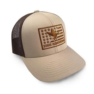 State Homegrown Duck Flag Hat