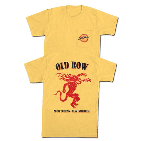 Old Row Spicy Shot Pocket Tee