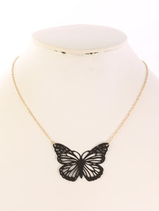 Butterfly Rubber Necklace