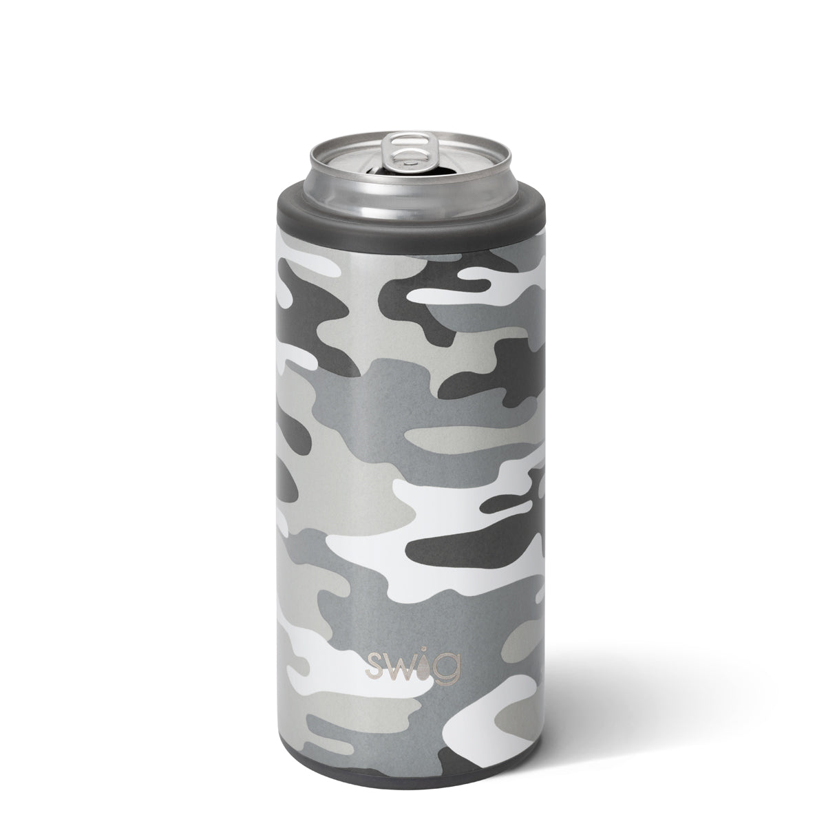 Swig 12oz Can Cooler Incognito Came