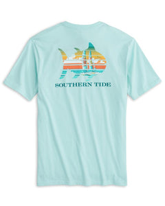 Southern Tide Catamaran Sunset SS Tee