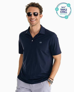 Southern Tide Brrr Solid Performance Polo
