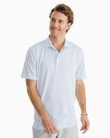Gingham Driver Performance Polo