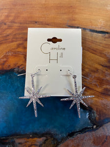 North Star Embellished Earring